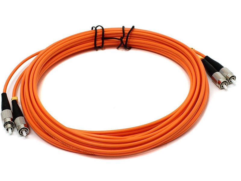 Сетевой кабель VCOM Optical Patch Cord FC-FC UPC Duplex 5m VDU101-5M