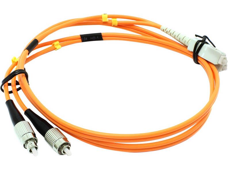 Сетевой кабель VCOM Optical Patch Cord FC-SC UPC Duplex 1m VDU102-1M