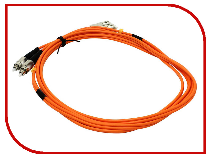 Сетевой кабель VCOM Optical Patch Cord FC-SC UPC Duplex 2m VDU102-2M patch