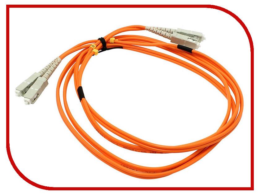 Сетевой кабель VCOM Optical Patch Cord SC-SC UPC Duplex 2m VDU202-2M patch