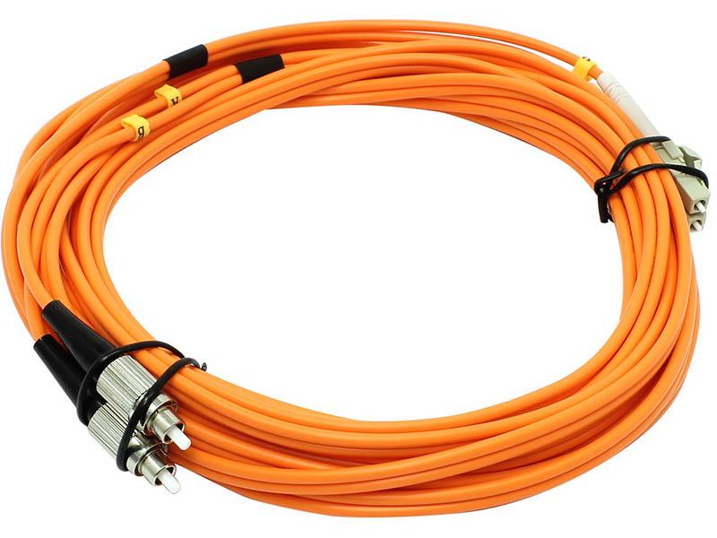все цены на Сетевой кабель VCOM Optical Patch Cord LC-FC UPC Duplex 5m VDU301-5M онлайн