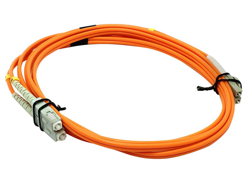 Сетевой кабель VCOM Optical Patch Cord LC-SC UPC Duplex 2m VDU302-2M