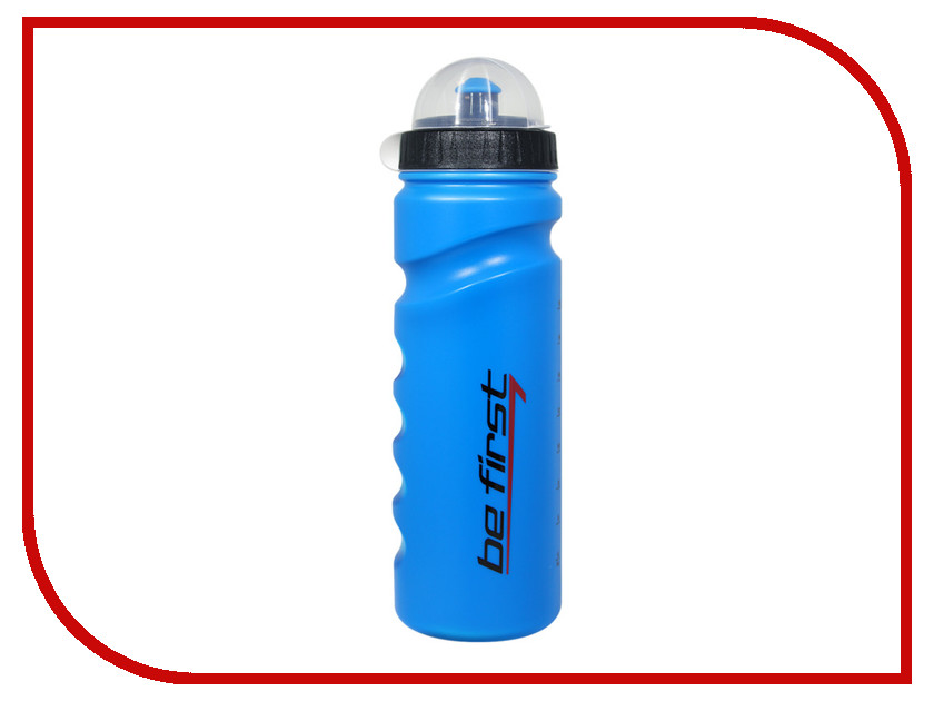 Бутылка Be First 750ml Blue 75-blue roswheel 52520 outdoor cycling bike stainless steel water bottle blue 750ml