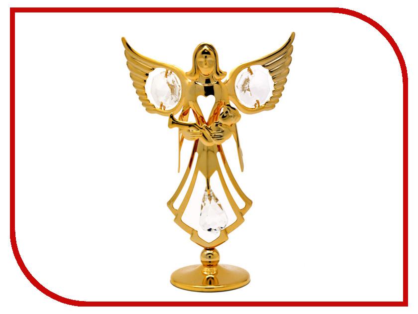 Новогодний сувенир Фигурка Crystocraft Ангел с младенцем 105-001-GCL