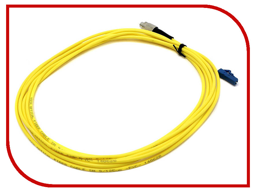 Фото - Сетевой кабель VCOM Optical Patch Cord LC-FC UPC Simplex 3m VSU301-3M meike fc 100 for nikon canon fc 100 macro ring flash light nikon d7100 d7000 d5200 d5100 d5000 d3200 d310