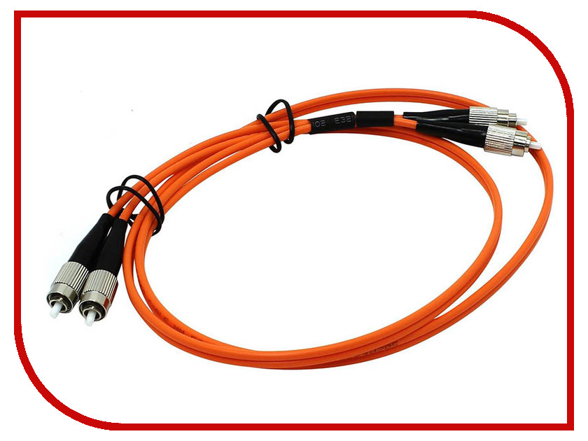 Сетевой кабель VCOM Optical Patch Cord FC-FC UPC Duplex 1m VDU101-1M