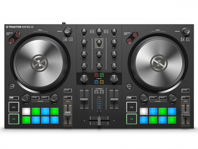 лучшая цена Dj контроллер Native Instruments Traktor Kontrol S2 Mk3