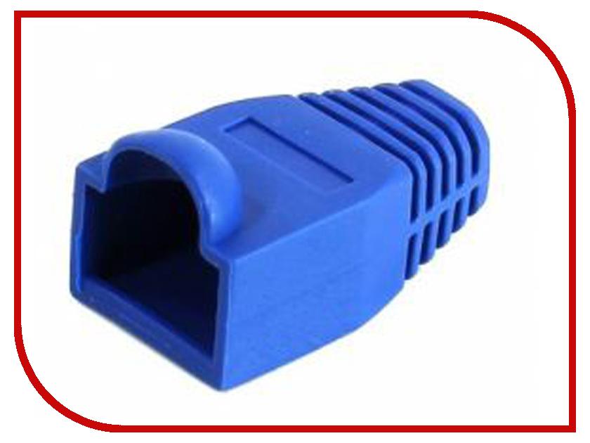 Колпачок VCOM для коннектора RJ-45 Blue VNA2204-B-1/100 - 100шт колпачок gembird для коннектора rj 45 grey bt5gy 5 100шт