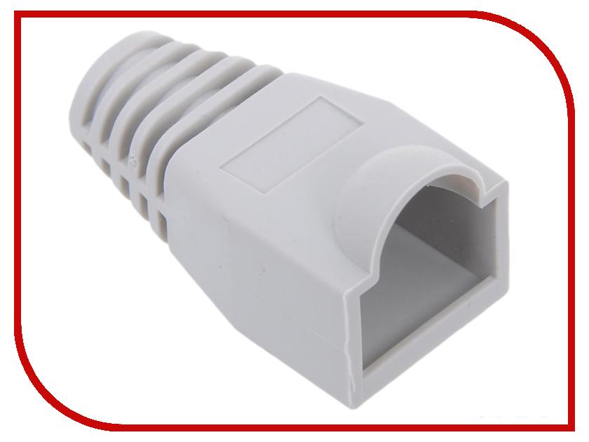 Колпачок VCOM для коннектора RJ-45 Grey VNA2204-GY-1/100 - 100шт колпачок gembird для коннектора rj 45 grey bt5gy 5 100шт