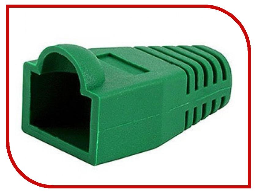Колпачок VCOM для коннектора RJ-45 Green VNA2204-GR-1/100 - 100шт цена и фото