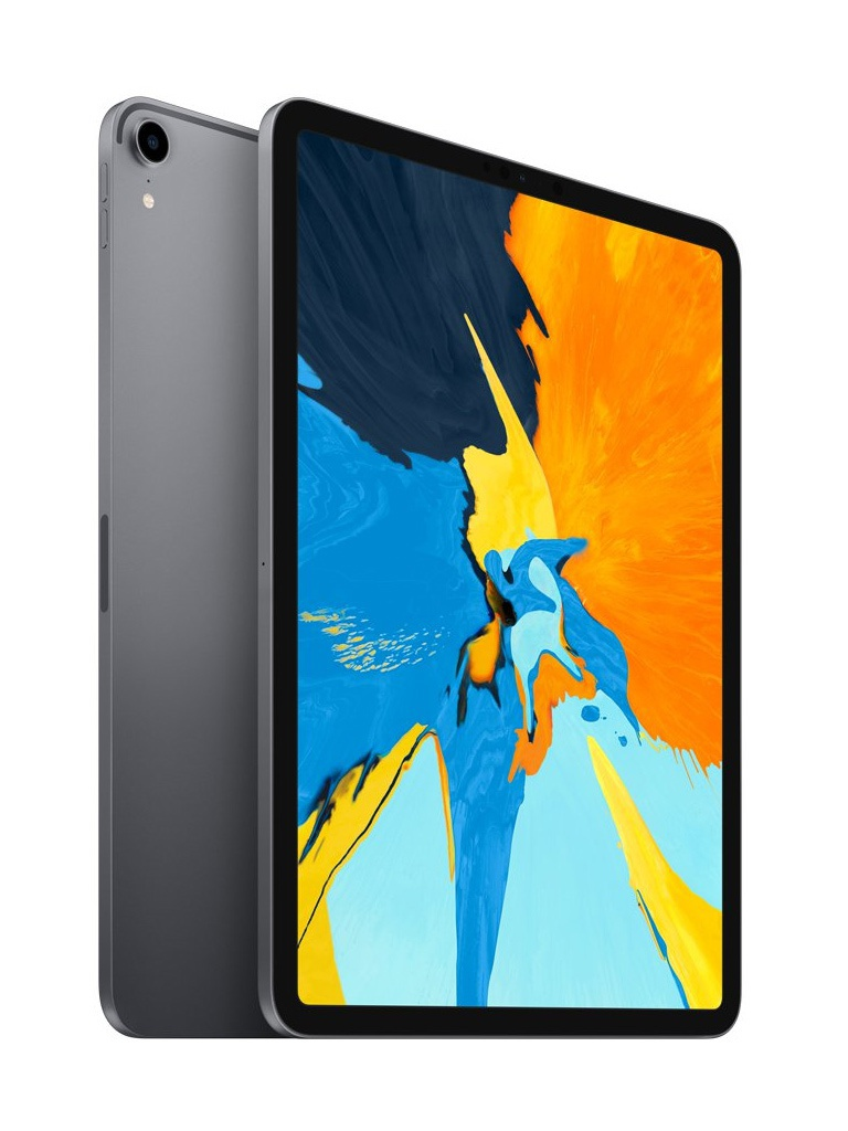 Планшет Apple iPad Pro 12.9 (2018) 64Gb Wi-Fi + Cellular Space Grey MTHJ2RU/A цена и фото
