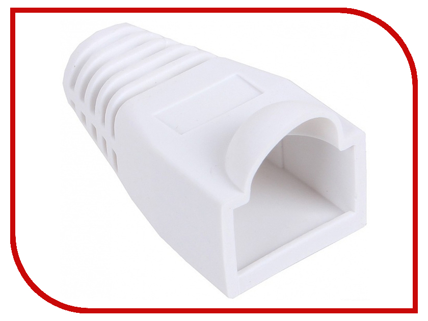 Колпачок VCOM для коннектора RJ-45 White VNA2204-W-1/100 - 100шт колпачок gembird для коннектора rj 45 grey bt5gy 5 100шт