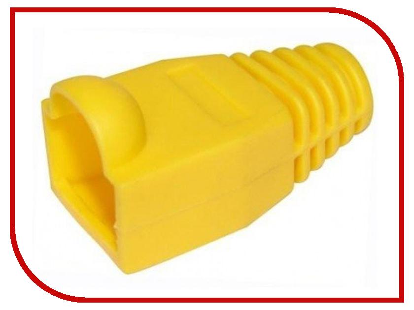 Колпачок VCOM для коннектора RJ-45 Yellow VNA2204-Y-1/100 - 100шт колпачок gembird для коннектора rj 45 grey bt5gy 5 100шт