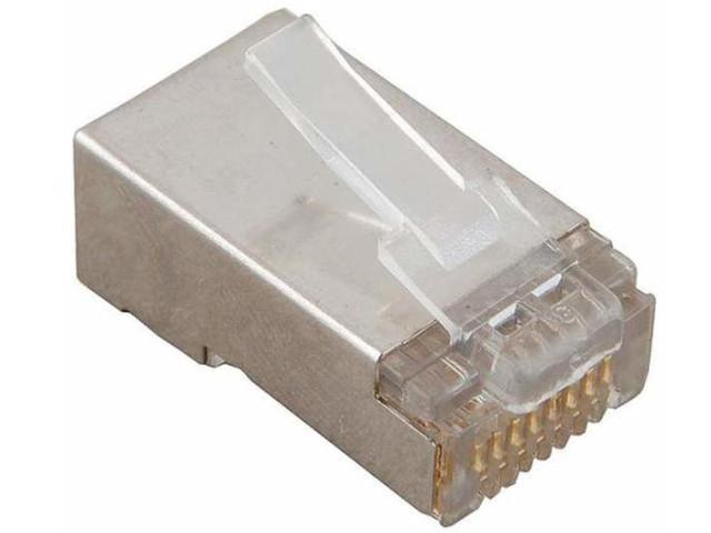 Коннектор VCOM RJ45 8P8C VNA2230-1/100 - 100шт