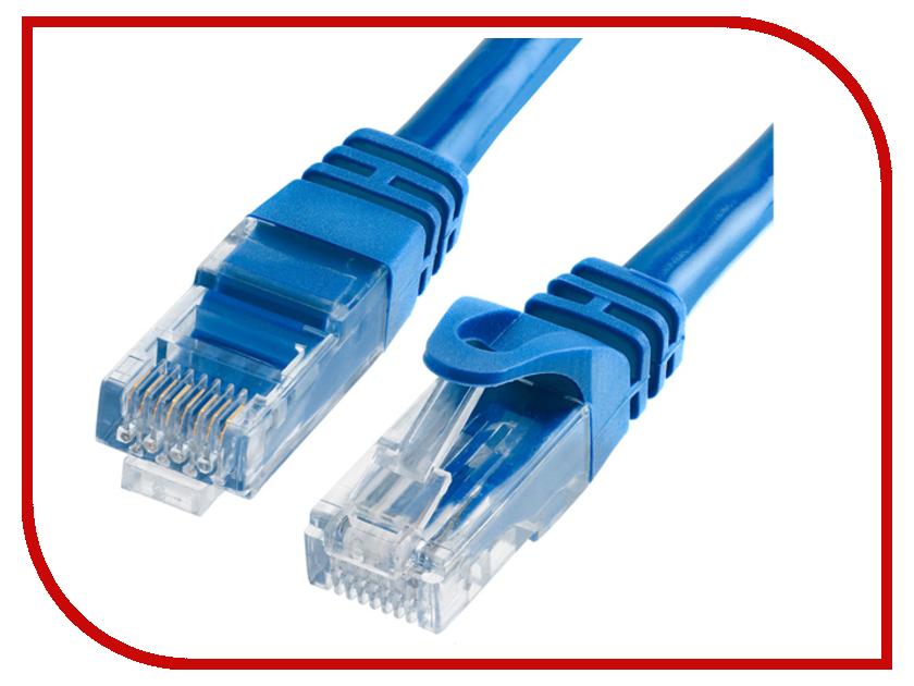 Сетевой кабель TV-COM UTP cat.5e 0.5m NP511-0.5-B Blue
