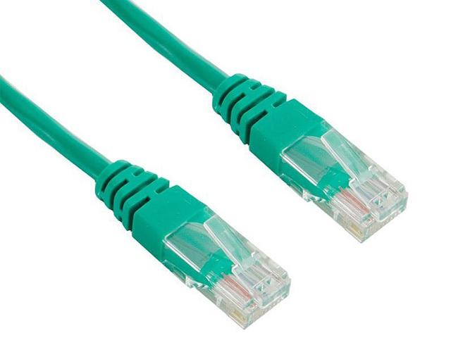 Сетевой кабель TV-COM UTP cat.5e 0.5m NP511-0.5-G Green