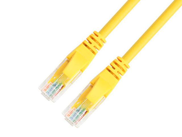 Сетевой кабель TV-COM UTP cat.5e 0.5m NP511-0.5-Y Yellow