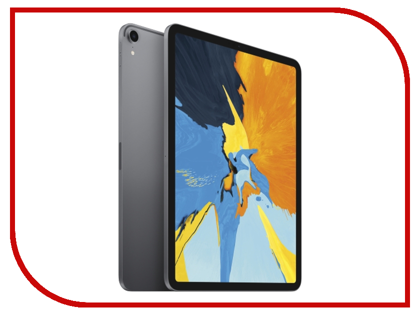 Планшет APPLE iPad Pro 11.0 Wi-Fi 256Gb Space Grey MTXQ2RU/A case for ipad pro 12 9 case tablet cover shockproof heavy duty protect skin rubber hybrid cover for ipad pro 12 9 durable 2 in 1