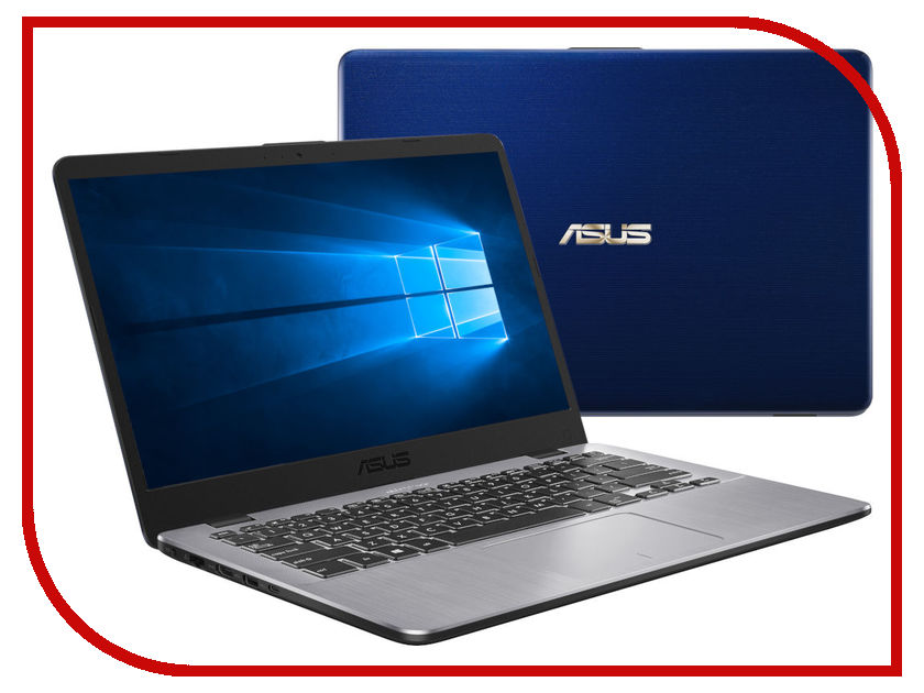 Ноутбук ASUS F405UA-BV862T 90NB0FA7-M12170 Glossy Blue (Intel Pentium Dual Core N4405U 2.1 GHz/4096Mb/500Gb HDD/No ODD/Intel HD Graphics 510/Wi-Fi/Bluetooth/Cam/14.0/1366x768/Windows 10 64-bit) моноблок asus eeetop pc et2040iuk 19 5 led pentium quad core j2900 2410mhz 4096mb hdd 1000gb intel hd graphics 64mb ms windows 10 home 64 bit [90pt0151 m02320] page 3