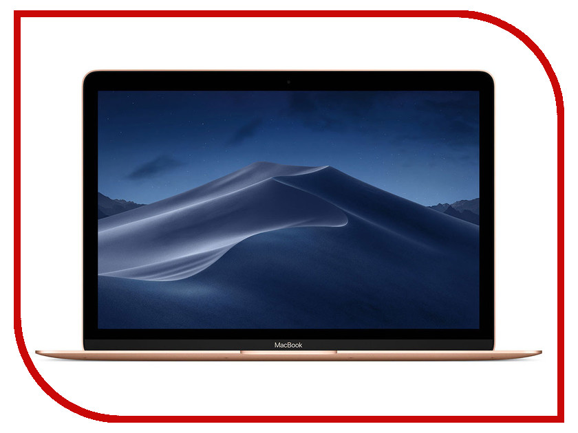 Ноутбук APPLE MacBook 12 Gold MRQN2RU/A (Intel Core m3 1.2 GHz/8192Mb/256Gb SSD/Intel HD Graphics/Wi-Fi/Bluetooth/Cam/12.0/2304x1440/macOS)