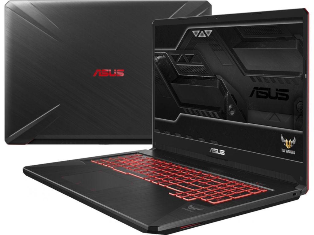 Ноутбук ASUS TUF FX705GD-EW070T 90NR0112-M02970 Black (Intel i5 8300H 2.3GHz/8192/1000Gb/No ODD/nVidia GeForce GTX 1050 4096/Wi-Fi/Bluetooth/Cam/17.3/1920x1080/Windows 10 64-bit)