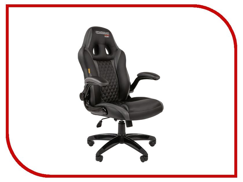 Компьютерное кресло Chairman Game 15 Black-Grey компьютерное кресло chairman 700 black 00 07014825