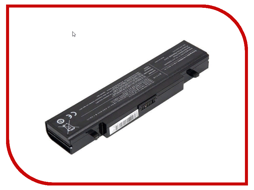 Аккумулятор RocknParts для Samsung R420/R510/R580/R530/R780/Q320/R519/R522 4400mAh, 11.1V 432076 аккумулятор zip 11 1v 4400mah 432076 для samsung r420 r510 r580 r530 r780 q320 r519 r522