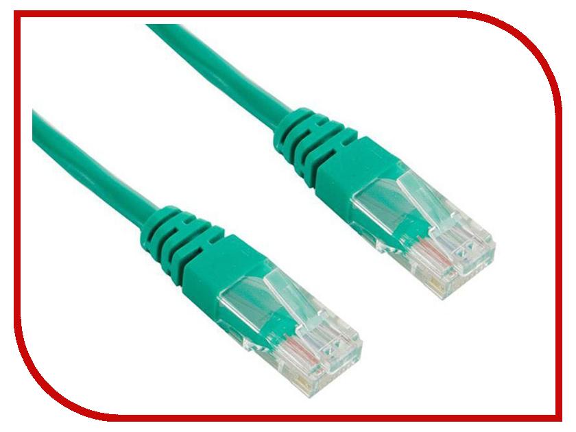Сетевой кабель TV-COM UTP cat.5e 1m NP511-1-G Green