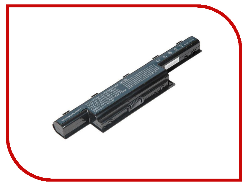 Аккумулятор RocknParts для Acer Aspire 5741/4741/4551/4551G/4771/4771G/5551/5741/5741G/TravelMate 5740/5740G/eMachines E640/E730/G640/G730 4400mAh 10.8V-11.1V 510134 комплектующие и запчасти для ноутбуков acer aspire 5742 5253 5253g 5336 5741 5551
