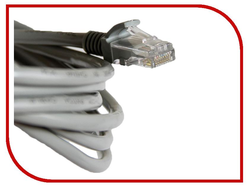 Сетевой кабель TV-COM UTP cat.5e 5m NP511-5 Grey echange 3 5 5 dbi gps tv el3174