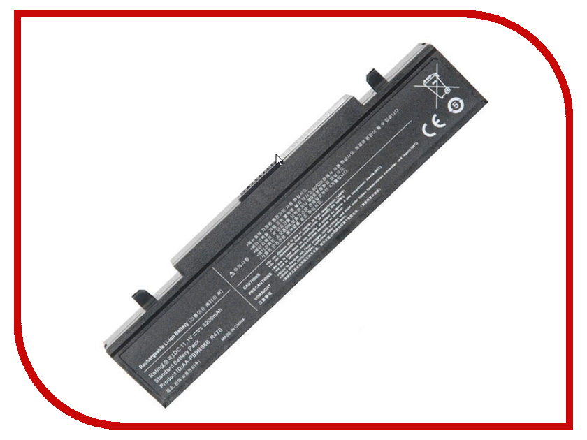 Аккумулятор RocknParts для Samsung R420/R510/R580/R530/R780/Q320/R519/R522 5200mAh 11.1V 506658 аккумулятор zip 11 1v 4400mah 432076 для samsung r420 r510 r580 r530 r780 q320 r519 r522