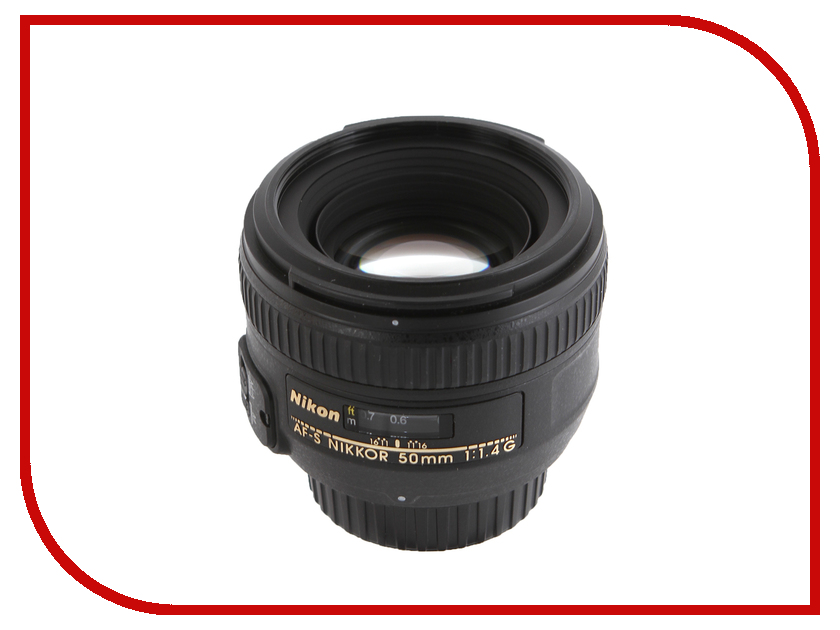 Фото - Объектив Nikon Nikkor AF-S 50 mm F/1.4 G meike fc 100 for nikon canon fc 100 macro ring flash light nikon d7100 d7000 d5200 d5100 d5000 d3200 d310