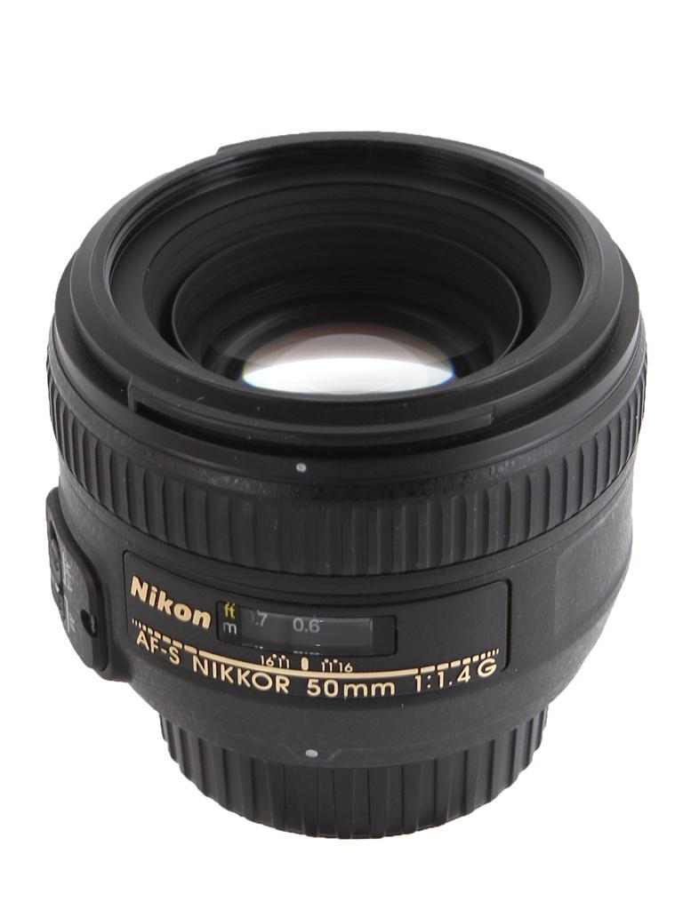 цена на Объектив Nikon Nikkor AF-S 50 mm F/1.4 G