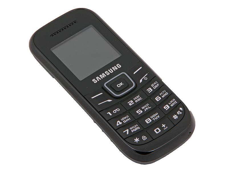 Сотовый телефон Samsung GT-E1200 Black