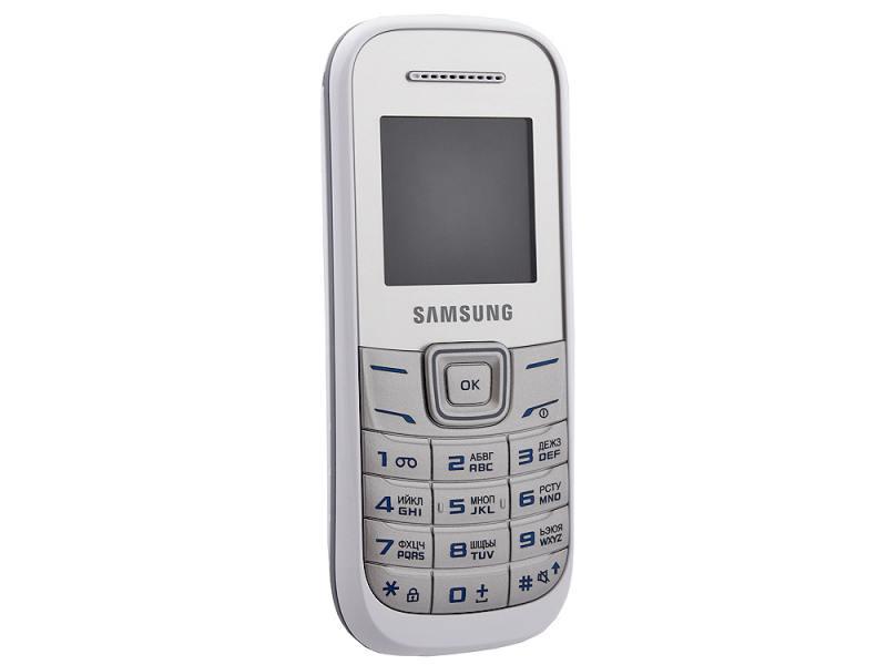 Сотовый телефон Samsung GT-E1200M White