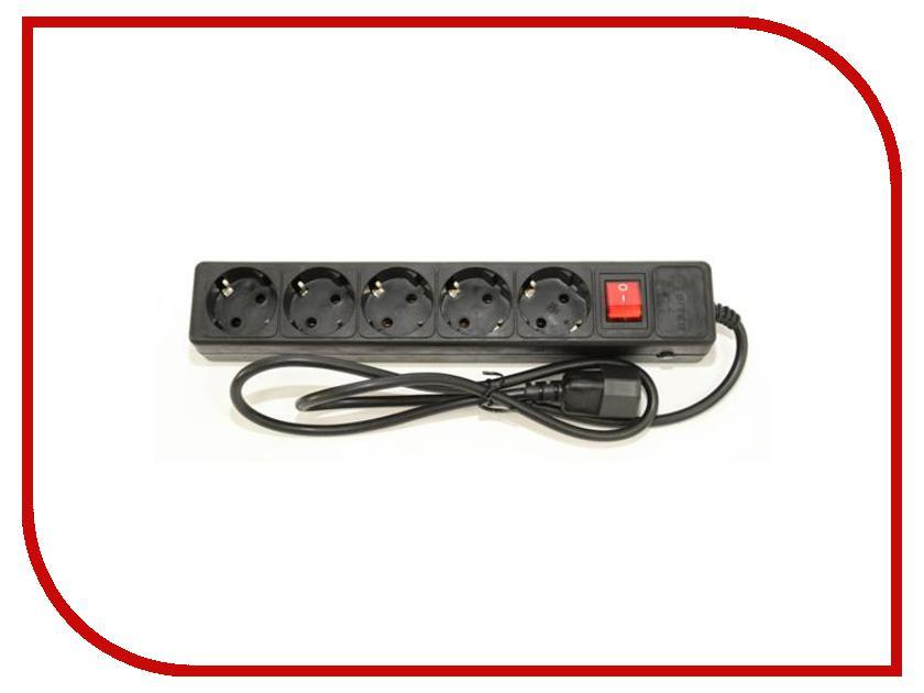 Сетевой фильтр 5bites 5 Sockets 1.8m Black SP5-B-18 lson triple car cigarette sockets power adapter black dc 12 24v