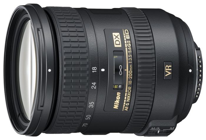 Объектив Nikon 18-200mm f/3.5-5.6G ED AF-S VR II DX Zoom-Nikkor<br>