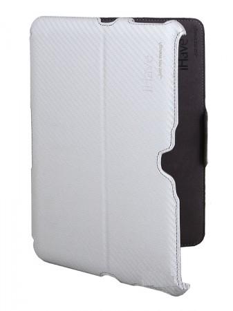 Аксессуар Чехол-держатель Galaxy Tab 10.1 iHave BG6217 карбон Silver
