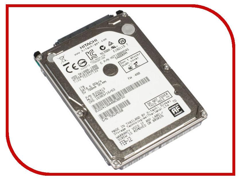 Жесткий диск 1Tb - HGST / Hitachi Travelstar 5K1000 HTS541010A9E680 / HT0J22413<br>