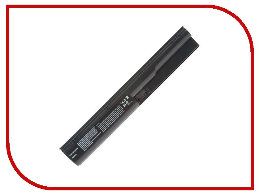 Аккумулятор RocknParts для HP ProBook 4330s/4331s/4430s/4431s/4435s/4436s/4440s/4441s/4446s/4530s/4535s/4540s/4545s 5200mAh 10.8V 384927 термос diolex dx500b 500ml