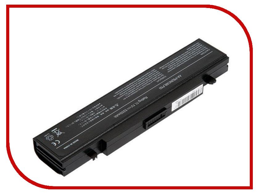 Аккумулятор RocknParts для Samsung P50/P60/M60/P210/P460/P560/Q210/Q320/R40/R460/R510/R520/R60/R610/RC710/R65/R70/X360/X60 5200mAh 11.1V 458398 аккумулятор zip 11 1v 4400mah 432076 для samsung r420 r510 r580 r530 r780 q320 r519 r522