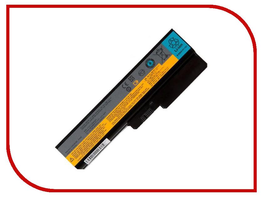 Аккумулятор RocknParts для Lenovo IdeaPad G430/G450/G550 5200mAh 11.1V 458388 аккумулятор для ноутбука for lenovo ibm 3000 g455 g550 n500 ideapad g430 v460 z360 b460 v460d l08s6y02 l08s6d02 l08s6c02
