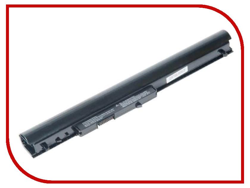 Аккумулятор RocknParts для HP Pavilion SleekBook 15-d/240 G2/CQ14/CQ15 2600mAh 14.4-14.8V 507466 2600mah power bank usb блок батарей 2 0 порты usb литий полимерный аккумулятор внешний аккумулятор для смартфонов светло зеленый