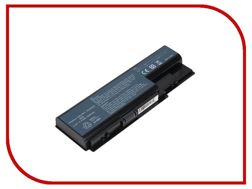 Аккумулятор RocknParts для Acer Aspire 5520/5920/6920G/7520 5200mAh 11.1V 445552 видеокарта для пк acer aspire 5920 4930 4520 4720 vg 8ms06 002
