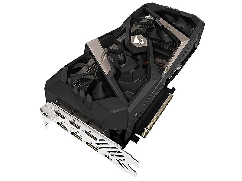 Видеокарта GigaByte GeForce RTX 2070 AORUS XTREME 1815Mhz PCI-E 3.0 8192Mb 14142Mhz 256 bit UCB-C 3xHDMI 3xDP GV-N2070AORUS X-8GC