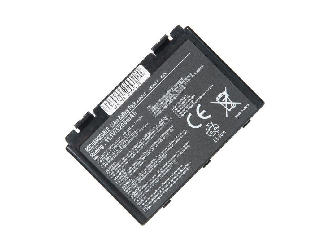 Аккумулятор RocknParts для Asus K40/K50/K70/F82/X5 5200mAh 11.1V 575147