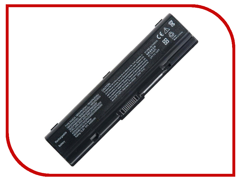 Аккумулятор RocknParts для Toshiba Satellite A200/A300/L300 4400mAh 10.8V 115438 free shipping v000138460 for toshiba satellite l300 l305 intel series motherboard all functions 100