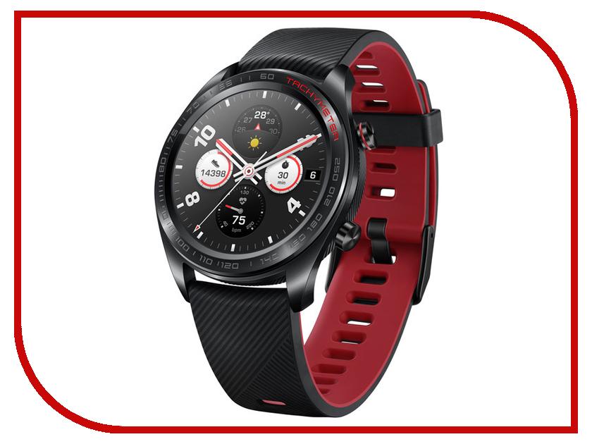 Умные часы Honor Watch Magic Lava Black TLS-B19 55023403 han 10 grids wood watch box fashion black watch display wooden box top watch storage gift cases jewelry boxes c030