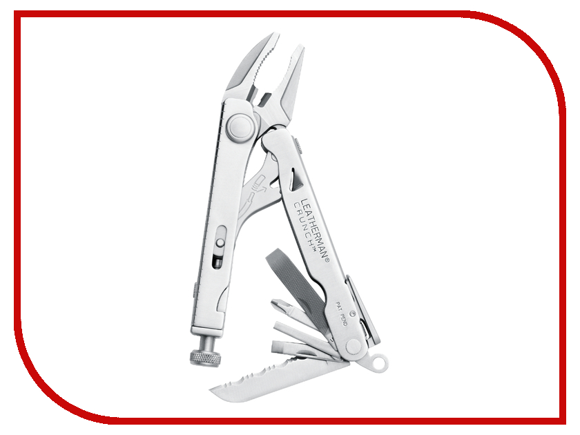 Мультитул Leatherman Crunch Steel 68010181N цена