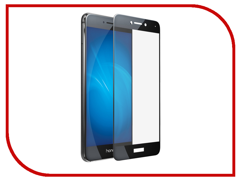 Аксессуар Защитное стекло для Huawei Ascend P8 Lite 2017 Ainy Full Screen Cover 0.33mm Black AF-Hb1208A